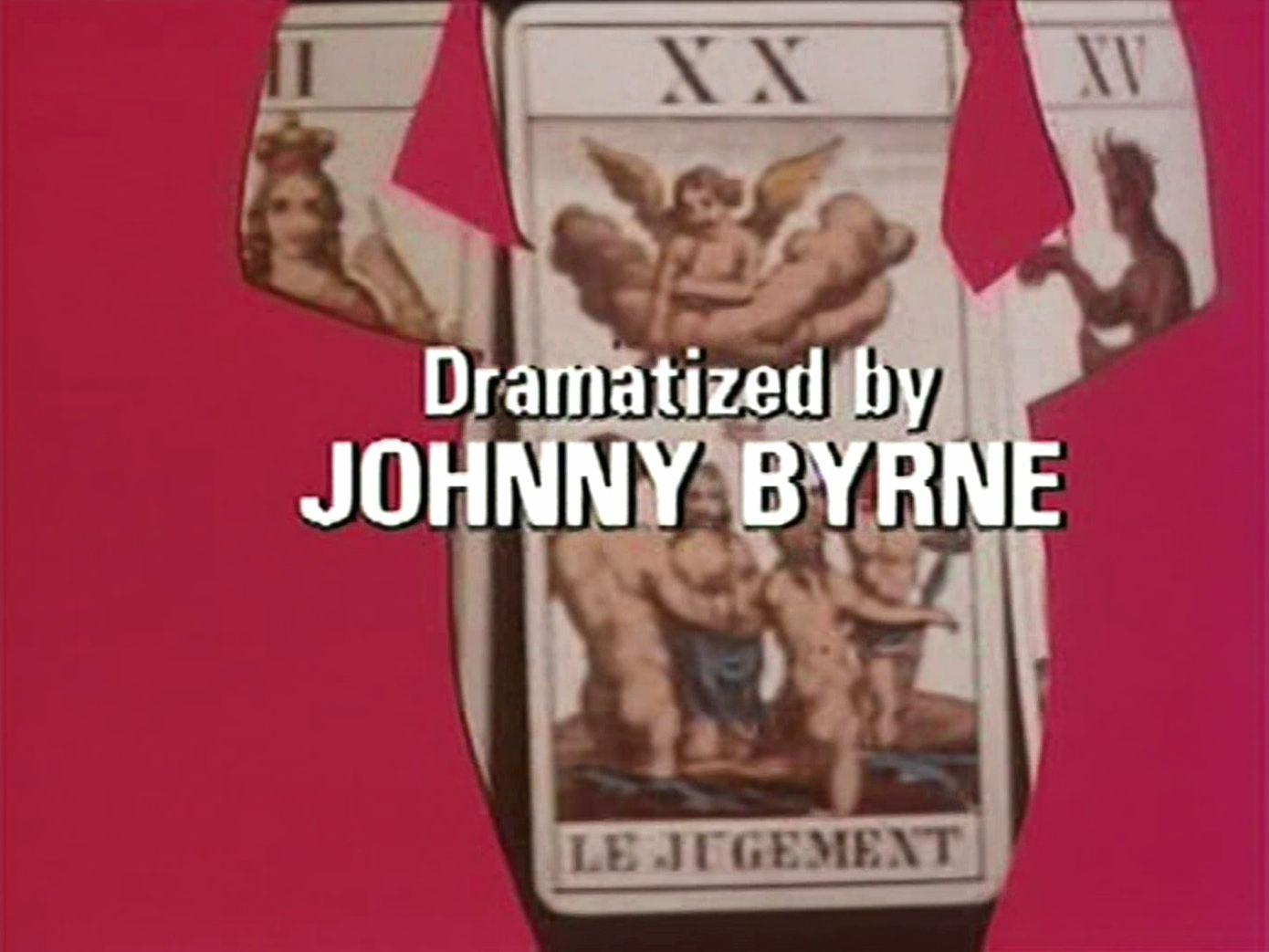 Main title from the 1982 episode of Tales of the Unexpected (1979-88), Death Can Add (1982) opening credits (6). Dramatized by Johnny Byrne