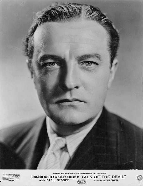 Photograph from Talk of the Devil (1936) (1) featuring Basil Sydney