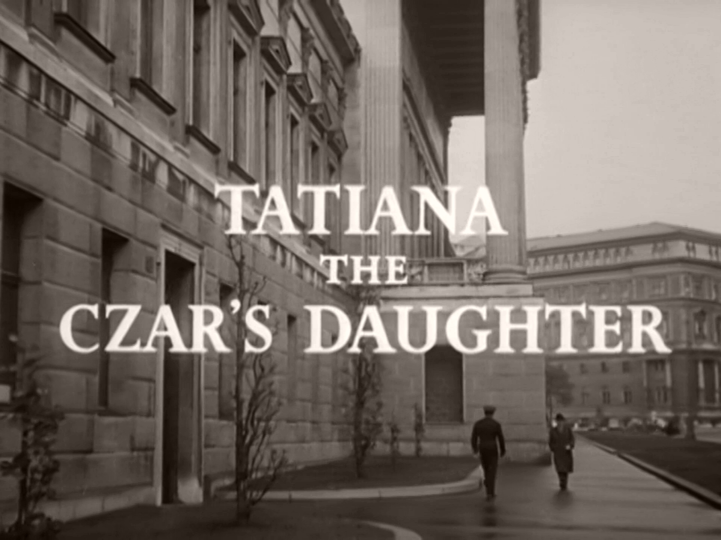 Opening credits from the 1957 'Tatiana, the Czar's Daughter' episode of Overseas Press Club – Exclusive! (1957) (2)