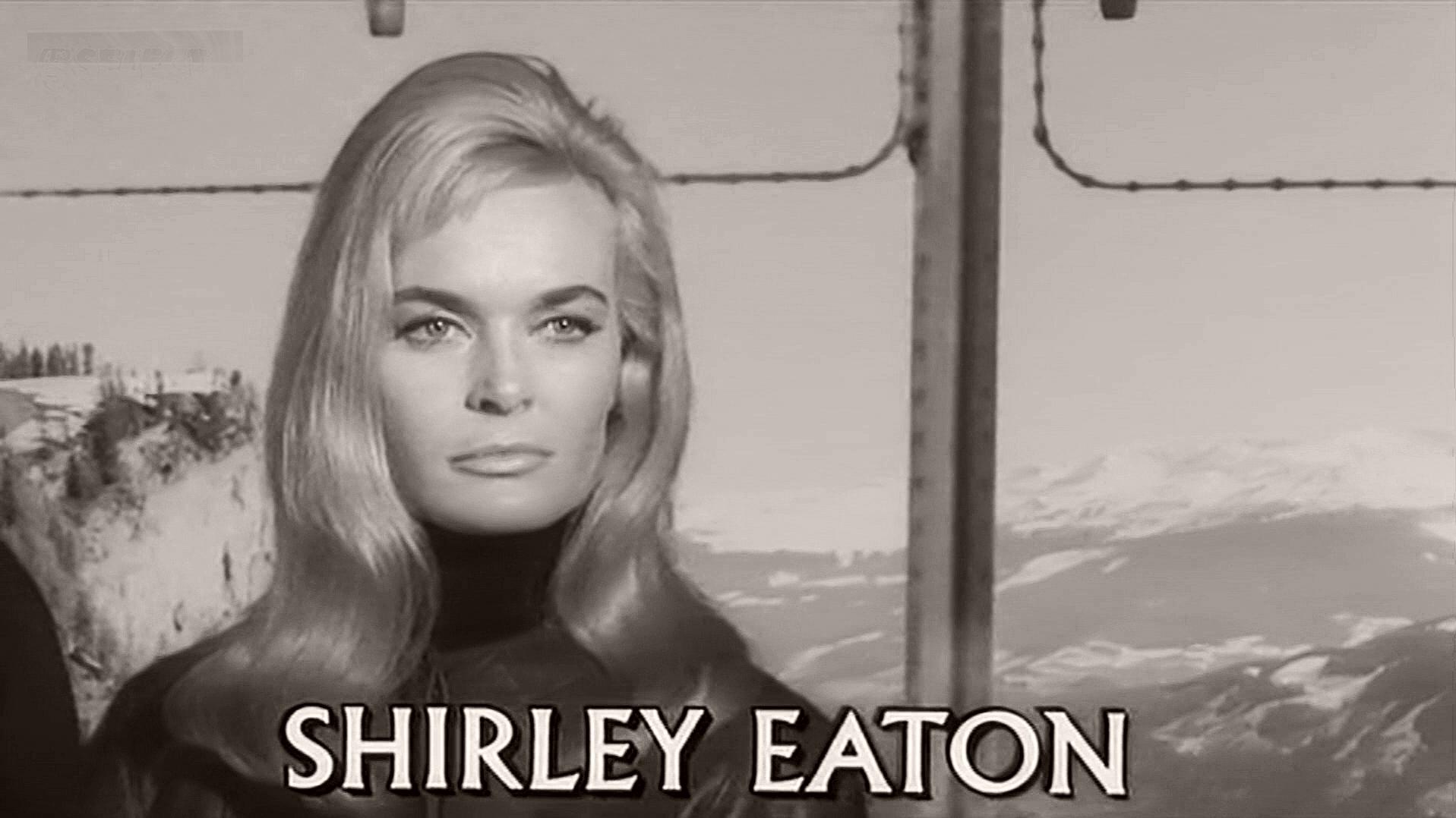 shirley eaton age