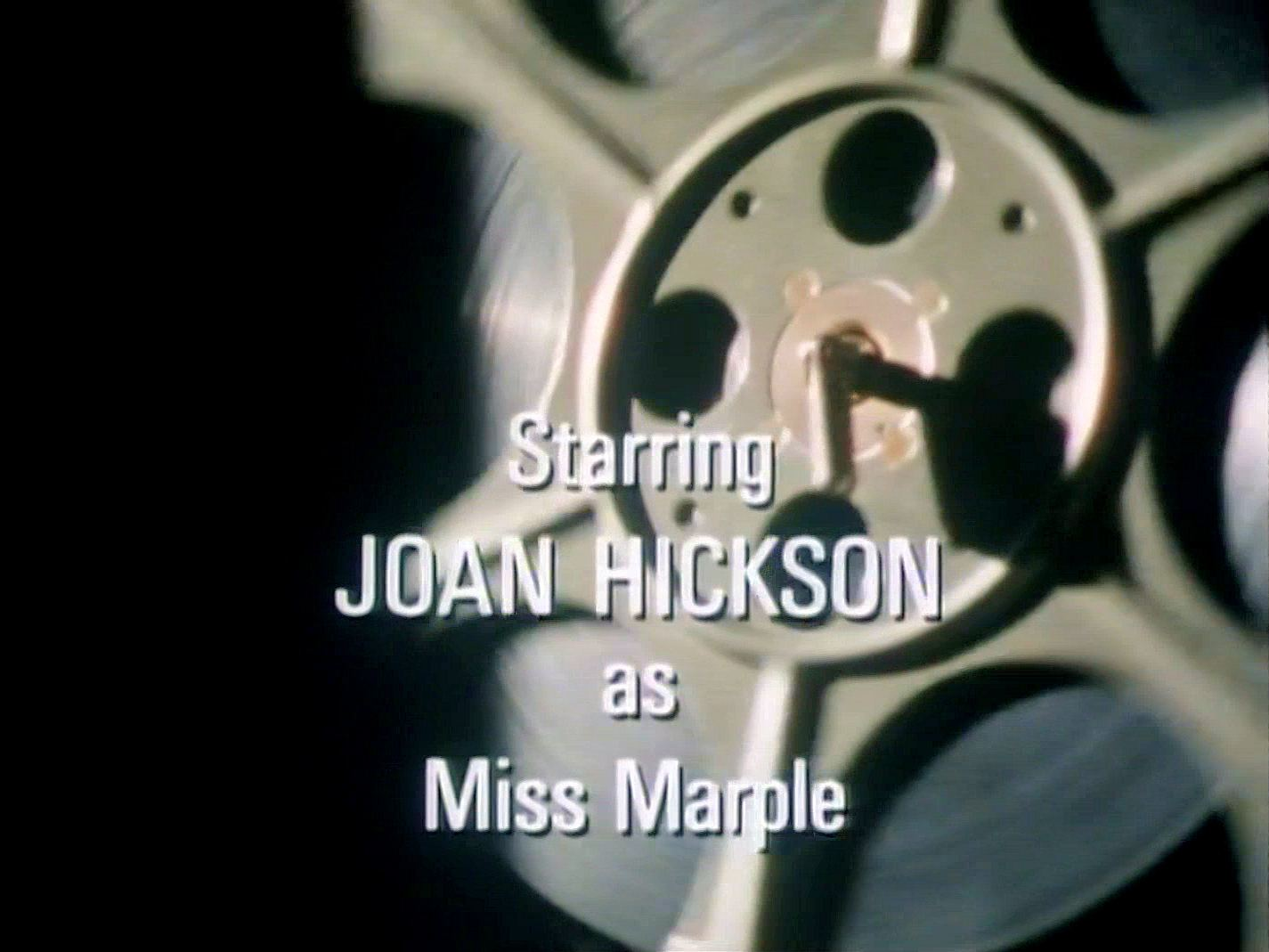 Main title from the 1991 episode of Agatha Christie's Miss Marple (1984–92), They Do It with Mirrors (1991) (5). Starring Joan Hickson as Miss Marple