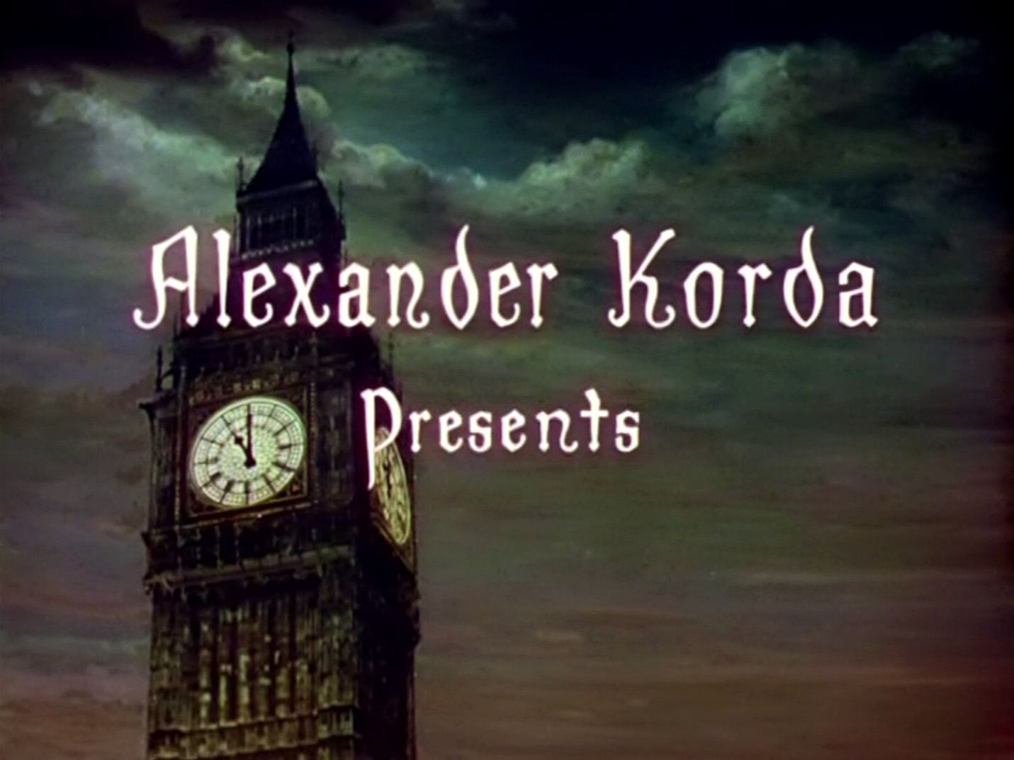 Main title from The Thief of Bagdad (1940) (1). Alexander Korda presents