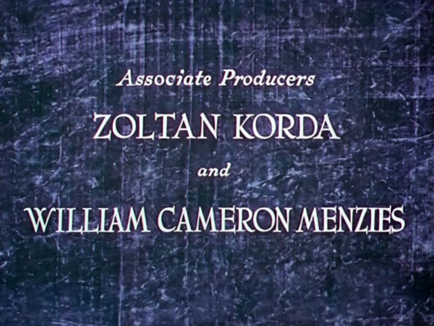 Main title from The Thief of Bagdad (1940) (5)
