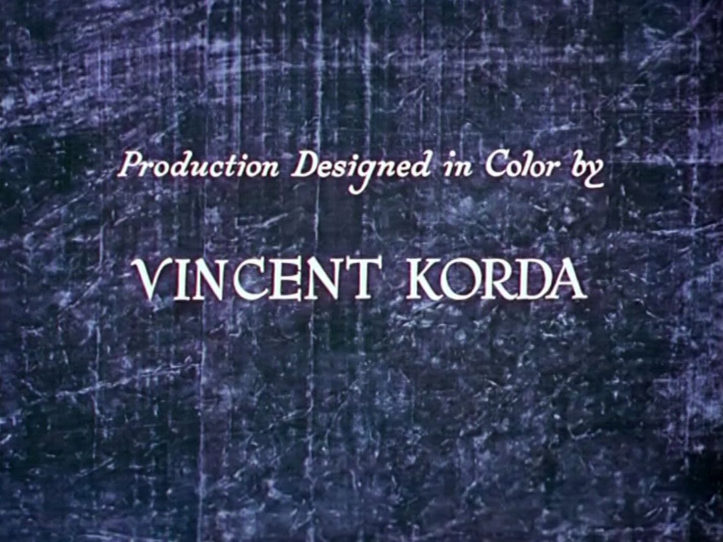 Main title from The Thief of Bagdad (1940) (6)