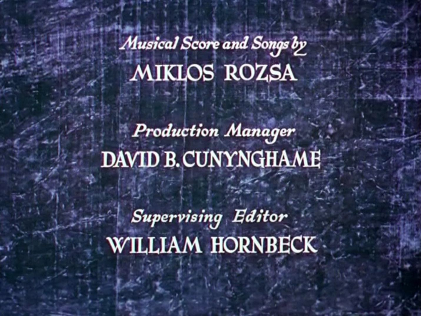 Main title from The Thief of Bagdad (1940) (9)