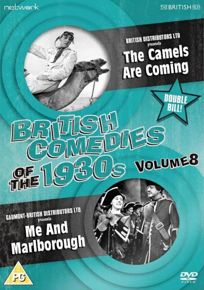 British Comedies of the 1930s Volume 8 DVD from Network and The British Film. Features The Camels are Coming (1934) and Me and Marlborough (1935)