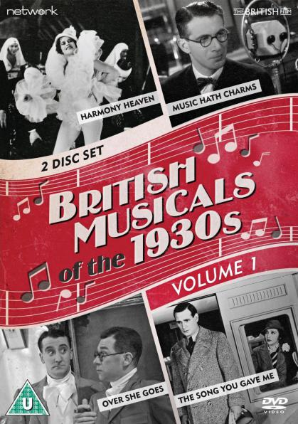 British Musicals of the 1930s Volume 1 DVD from Network and The British Film