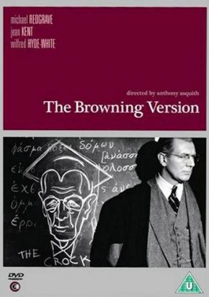 The Browning Version DVD with Michael Redgrave from Second Sight Films, 2007