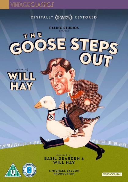 The Goose Steps Out DVD from Studiocanal