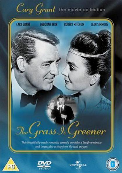 The Grass is Greener DVD with Cary Grant and Jean Simmons