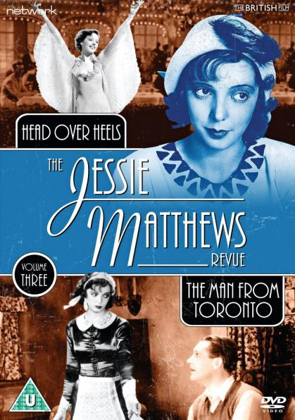 The Jessie Matthews Revue Volume 3 from Network and The British Film.  Features Head over Heels and The Man From Toronto