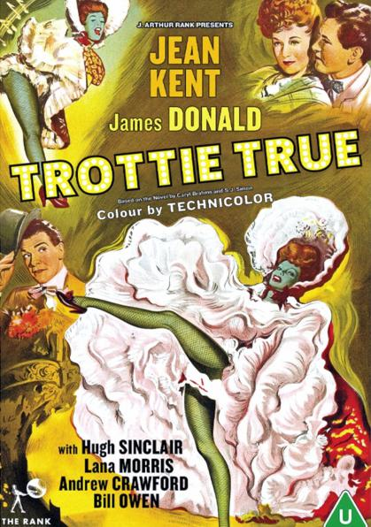 DVD cover of Trottie True (1949) from Strawberry Media [2021] (2)