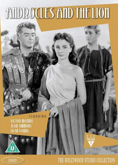 Androcles and the Lion DVD with Jean Simmons