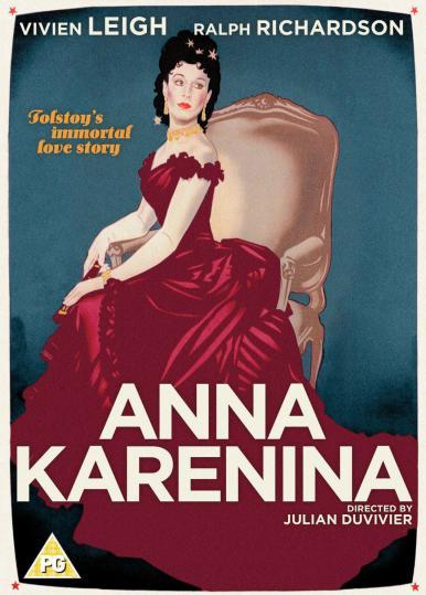 Anna Karenina DVD from Studio Canal.  Features Vivien Leigh as Anna Karenina