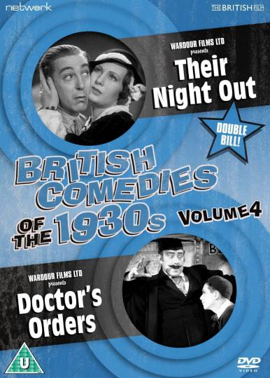 British Comedies of the 1930s DVD Volume 4 from Network and The British Film.  Features Their Night Out and Doctor's Orders