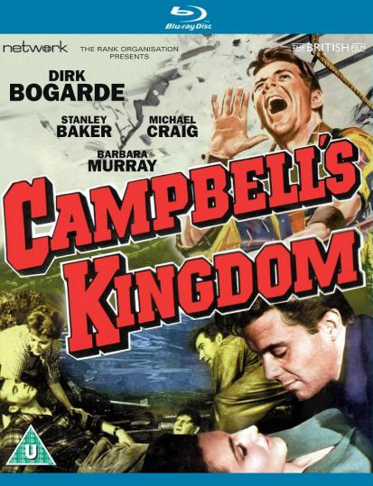 Campbell's Kingdom Blu-ray from Network and The British Film.  Features Dirk Bogarde.