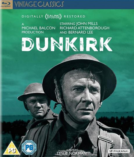 Dunkirk Blu-ray from Studiocanal