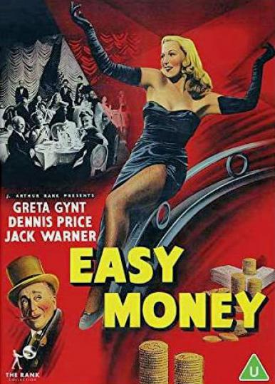 DVD cover of Easy Money (1948) from Strawberry Media and the Rank Collection [2020] (1)