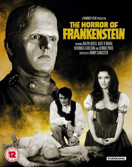 The Horror of Frankenstein Blu-ray from Studiocanal