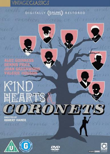 Kind Hearts and Coronets DVD (Optimum, 2011)
