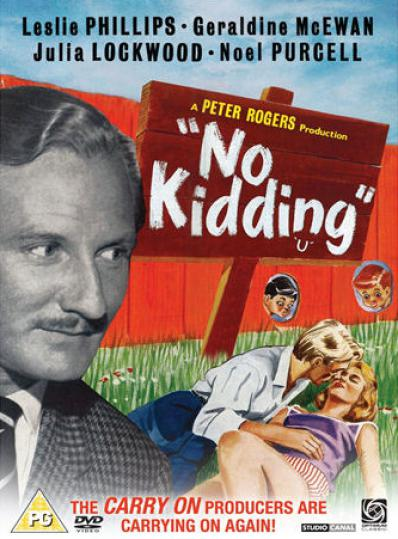 No Kidding DVD with Leslie Phillips