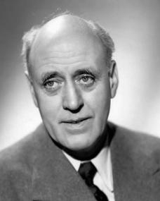 Publicity photograph of British actor, Alastair Sim