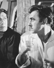 Stewart Granger (as Mark Shore) in a photograph from All the Brothers Were Valiant (1953) (4)
