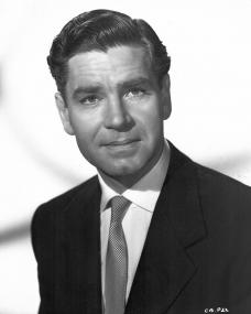 Handsome British film star Anthony Steel, as he appears in the role of Mark Loring, in the new Raymond Stross production, A Question of Adultery (1958), and in which he co-stars with Julie London.  The film was directed by Don Chaffey and will be released by Eros Films Ltd.