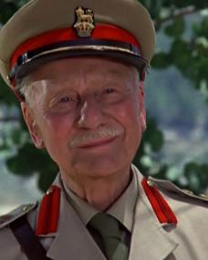 Screenshot from Appointment with Death (1988) (1) featuring John Gielgud