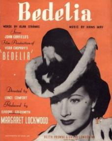 Sheet music from Bedelia (1946) (1)