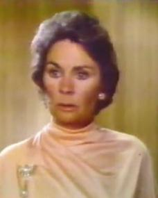 Gretchen Jordache Burke (Jean Simmons) in Beggarman, Thief (1979)