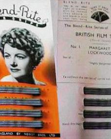 The Blend-Rite series of British Film Stars; Number 1, featuring Margaret Lockwood (re-release)