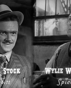Main title from Brighton Rock (1948) (6).  Nigel Stock as Cubitt Wylie Watson as Spicer