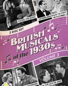 British Musicals of the 1930s Volume 3 DVD from Network and The British Film