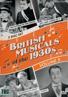 British Musicals of the 1930s Volume 5 DVD from Network and The British Film