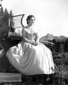 Patricia Roc (as Caroline Marsh) in a photograph from Canyon Passage (1946) (5)