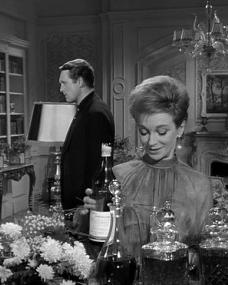 Patrick McGoohan and Joan Greenwood (as Nandina) in a photograph from Danger Man (1960-62) (8)