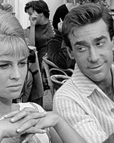 Photograph from Darling (1965) (1) featuring Julie Christie and Roland Curram