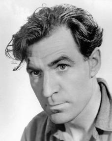 British actor David Farrar in a publicity shot for Black Narcissus (1947)