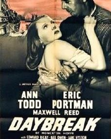 Poster from from Daybreak (1948) (1)