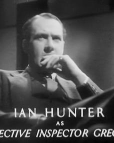 Main title from Death at Broadcasting House (1934) (4). Ian Hunter as Detective Inspector Gregory