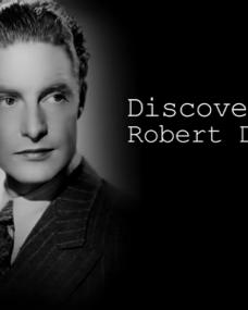 Main title from the 'Discovering: Robert Donat' episode of Discovering Film (1)