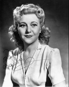 Publicity photo of British film actress, Dora Bryan