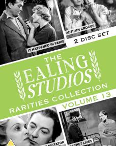The Ealing Studios Rarities Collection – Volume 13 from Network and The British Film.  Features It Happened in Paris, Autumn Crocus, The Dictator and Secret Lives