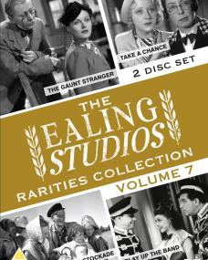 The Ealing Studios Rarities Collection DVD – Volume 7 from Network as part of the British Film collection. Features Eureka Stockade, Take A Chance, The Gaunt Stranger and Play Up the Band