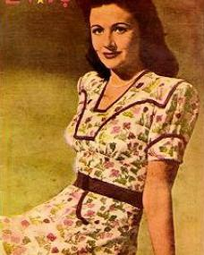 Evis magazine with Margaret Lockwood.  (Turkish)
