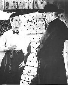 Alec Guinness (as Father Brown) in a photograph from Father Brown (1954) (9)