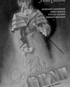 Film Bühne magazine with James Mason in The Man in Grey.  Issue number 67.  (German).  Der Herr in Grau.