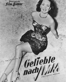 Illustrierte Film Bühne magazine with Patricia Roc in The Perfect Woman.  1949, issue number 513.  (German).  Geliebte nach Mass.