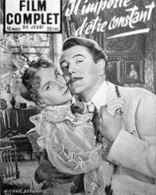 Film Complet magazine with Joan Greenwood and  Michael Redgrave in The Importance of Being Earnest.  5th November, 1953, issue number 416.  (French)